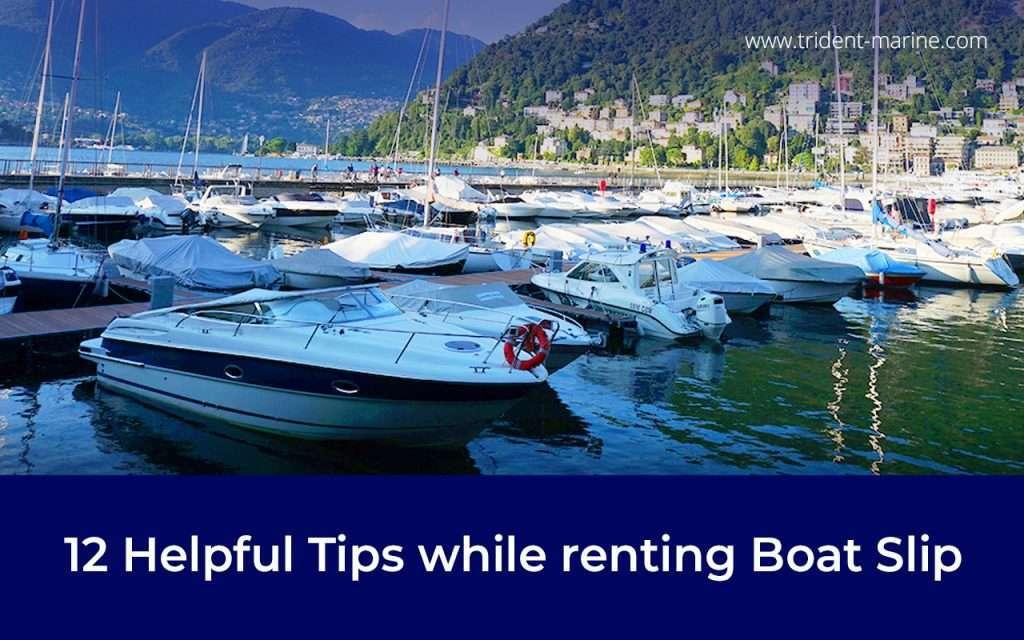 Boat Slip Pasadena