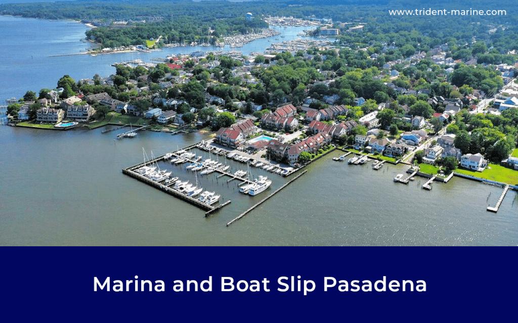 Marina & Boat Slip Pasadena